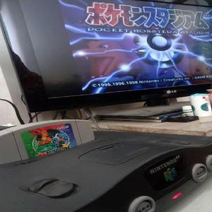 Pokemon stadium japonés para nintendo 64 pocket monsters