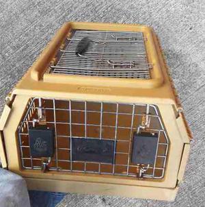 Transportadora plegable importada para gato o perro pequeño