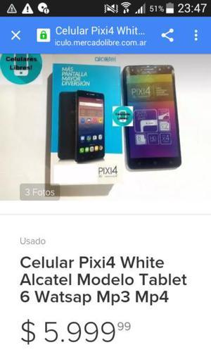 Vendo alcatel pixi4 pantalla 6