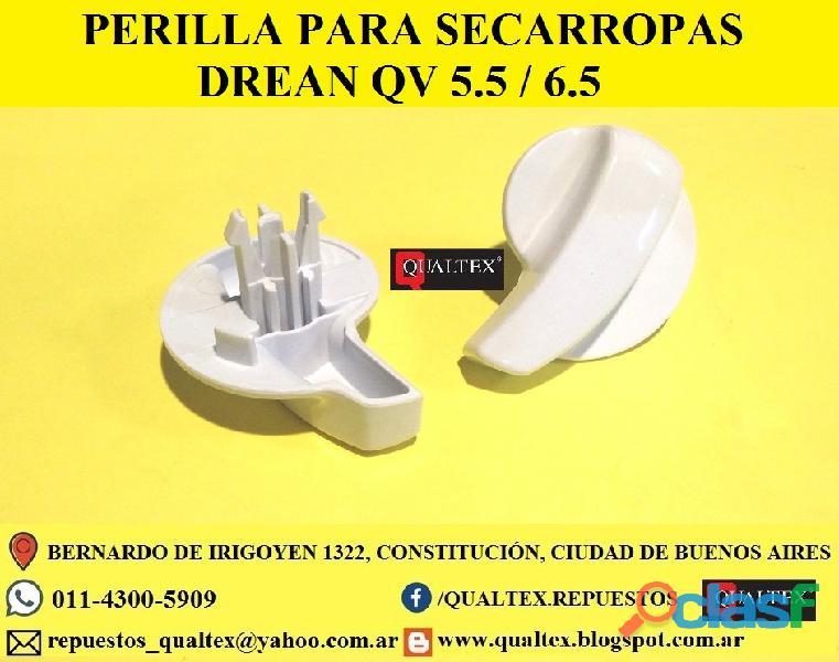 REPUESTOS PARA SECARROPAS DREAN QV 5.5 7 6.5 2