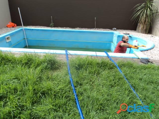 Desagote y limpieza de piscinas