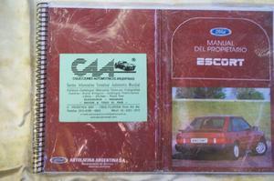 Manuales de autos nacionales* automobilia c.a.a.