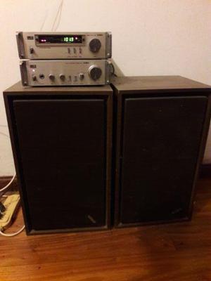 Radio aiwa am fm amplificador aiwa 160 w