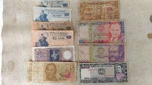 Vendo billetes / monedas antiguos ($500)(whatsapp