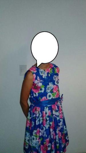 Vestido niña talle 12
