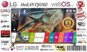 Lg smart tv 49 uj6560 4k especial dia de la madre con