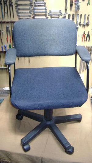 Sillon para escritorio tapizado en tela