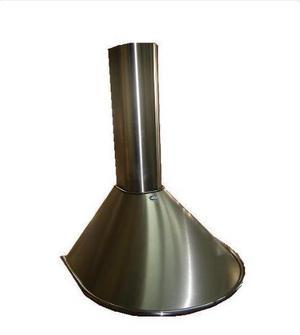 Campana 60cm semicircular c/motor y luz - nuevas