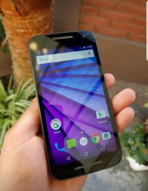 Motorola g3 impecable.