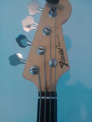 Bajo electrico field jazz bass con di marzio dp148 ultra jaz