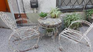 Juego sillones jardin vintage en Argentina 【 OFERTAS marzo ...