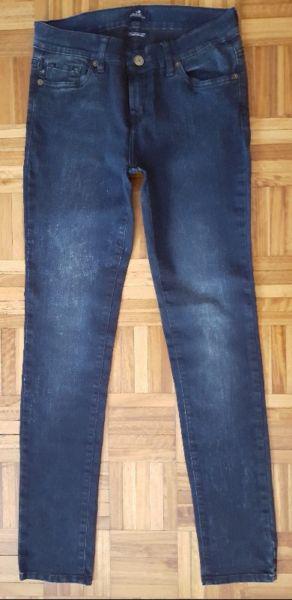 Jean azul elastizado chupin marca brooksfield nuevo
