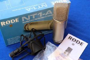 Rode nt1a micrófono condenser - usado - impecable