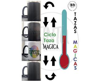 Tazas magicas personalizadas $262 de cerámica importada