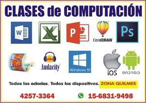 Clases Informática Quilmes Todas Las Edades y Dispositivos