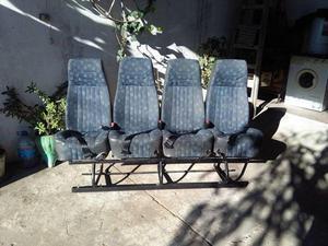 Vendo fila 4 de asientos reclinables