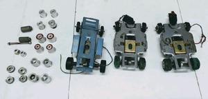 Scalectrix lote chasis motor llantas