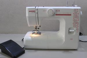 Maquina de coser recta multipunto familiar