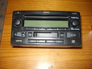 Estereo toyota sw4 o hilux (radio am/fm cd y cassette)