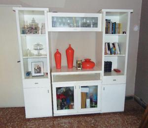 Modular mueble mesa tv estantes