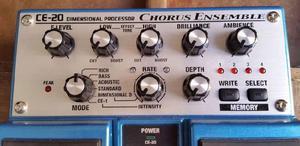 Pedal boss chorus ce-20 stereo- como nuevo- ¡oportunidad!-
