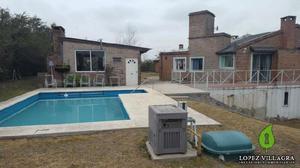Excelente casa en venta villa allende golf zona norte - apta
