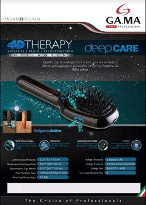 Cepillo gama italy 4d therapy