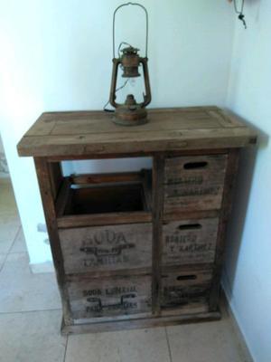 Mueble aparador de sifoneria antiguo