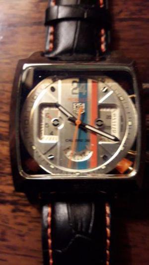 Reloj tag heuer monaco calibre 36 automatico 2 fechadores