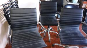 1 sillón director y 4 sillones de cliente