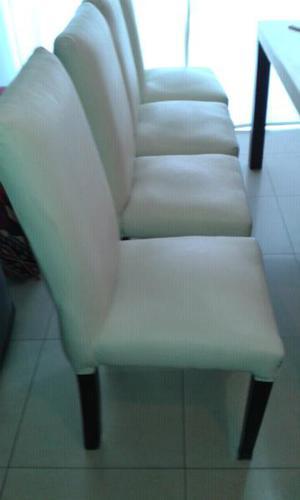 4 sillas para living/ comedor