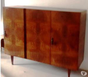 Mueble antiguo bargueño bahiut vajillero cristalero