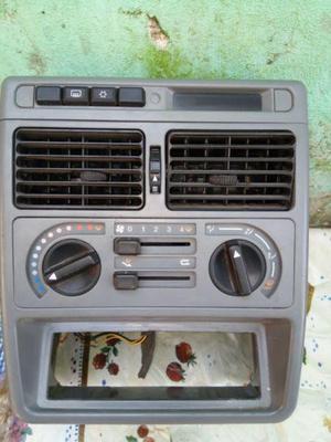 Consola central con climatizador aa fiat uno fiorino fire