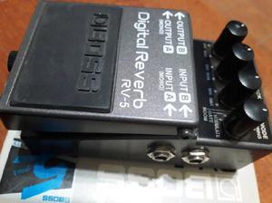 Pedal boss/rv-5 /reverb professional!.