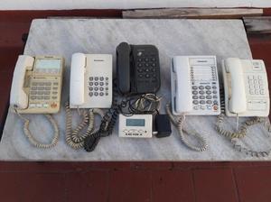 5 teléfonos fijos - 1 id llamadas