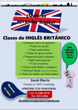 Clases de inglés británico