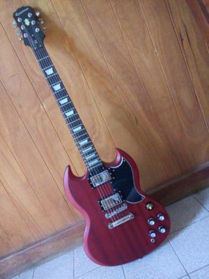 Guitarra epiphone sg g-400 pedal boss ampli accesorios