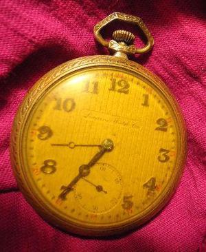 Reloj de bolsillo locarno watch co, funciona $ 1000