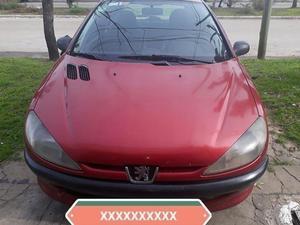Peugeot 206 2000. nafta/gnc