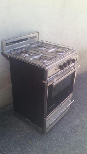 Cocina sirena 4 hornallas acero 1000 pesos hoy