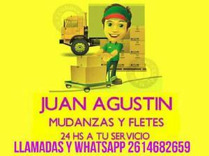 Mudanzas y fletes juan agustin 24 horas 2614682659
