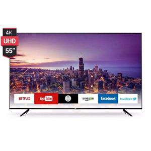 Smart led tv uhd 55 4k rca 3 hdmi usb netflix