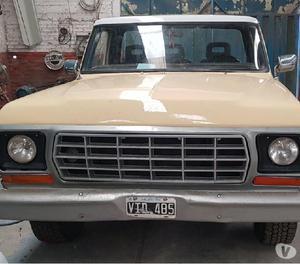 Vendo o permuto ford f100 gnc 1978
