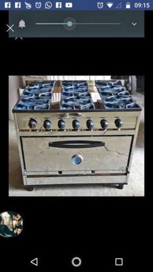 Cocinas industriales nuevas de acero inoxidable