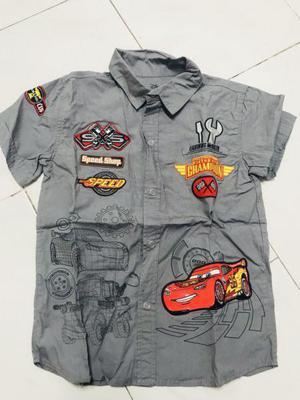Camisa disney cars original 5/6