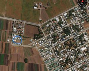 Terreno en comuna de alvear, zona residencial. barrio anfora