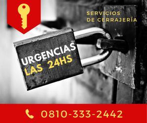 Urgencias las 24hs! servicios de cerrajería en puerto