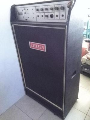 Amplificador citizen - vintage nacional -
