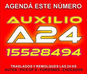 Auxilio gruas a24