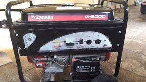 Generador grupo electrogeno marca zanella mod g-6000